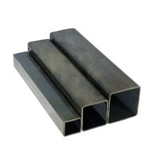galvanized black annealing hollow section rectangular tube steel square tube