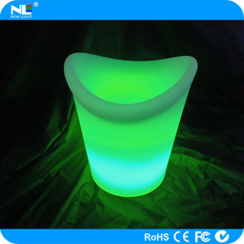 2014 new electronics led ice cooler bucket