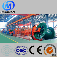 Wire & Cable Machine Drum Twister Type Laying Up Machine With Steel Wire Armoring