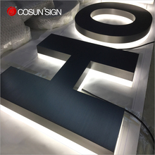 Illuminated Acrylic Alphabet Letter Sign