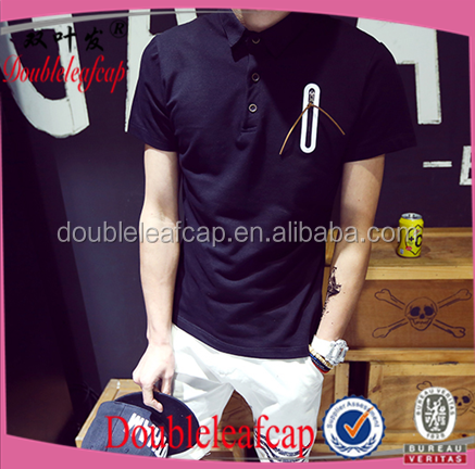 Polo sport t-shirt design in your own style, 100% Cotton Yarn Dyed men's Short sleeve Polo Shirts stretch-cotton t shirt