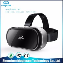 Magicsee M1 wholesale vr headset smartphones theater 3d glasses for movie