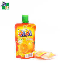 China special shape injected pouch plastic packaging bag for food juice