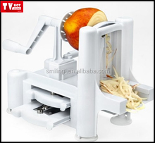 Julienne vegetable slicer magic fruit shredder dicer chopper, as seen on tv stainless steel vegetable slicer