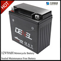 motorcycle battery 12v 9ah electric scooter battery 12v