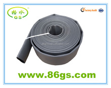 black fire hose with rubber lining