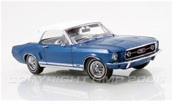 Model Car-GMP 1967 Ford Mustang GT Convertible - Acapulco Blue