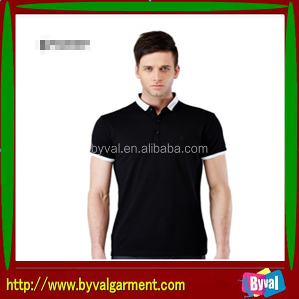 Wholesale customed high quality cheap clothing manufacturing companies in china for men's polo shirt