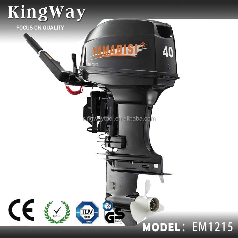 Hot selling New model 2 stroke 40 hp gasoline outboard motor