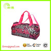 beautiful nylon dancer travel holdall bag