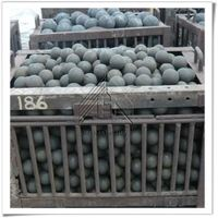 China high hardness forged steel ball for mining