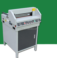 Touch screen pogrammed hydraulic electric paper cutter machine/guillotine paper cutter