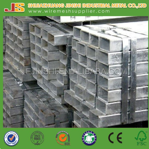 Galvanised Square Pipe/Structural Steel Galvanized tube