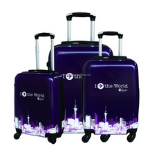 black pc luggage sets for traveling