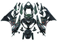 For Kawasaki ZX6R ZX-6R 2009-2011 Injection molded ABS Plastic Fairing Body Work