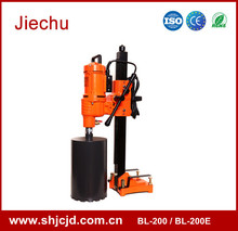 200mm manual hand core sample drilling rig machine