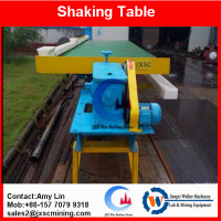 Tin concentration equipment shaker table for sale