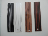 wenge color abs door edge banding