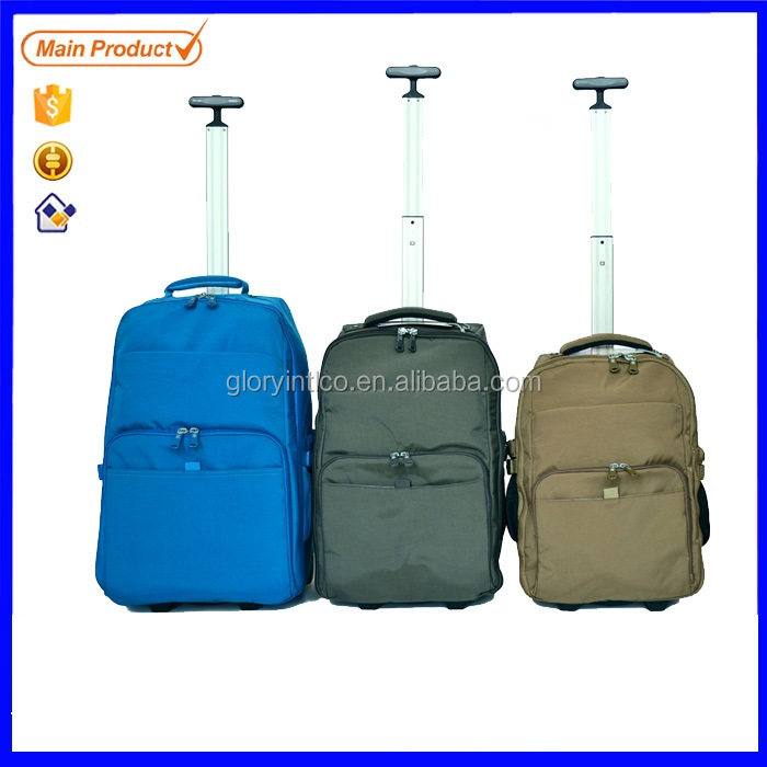 Baigou brand single trolley travel backpack extra single trolley bag duffle bag