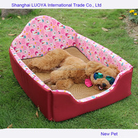 Most popular best selling summer pink dog bed beauty dog bed