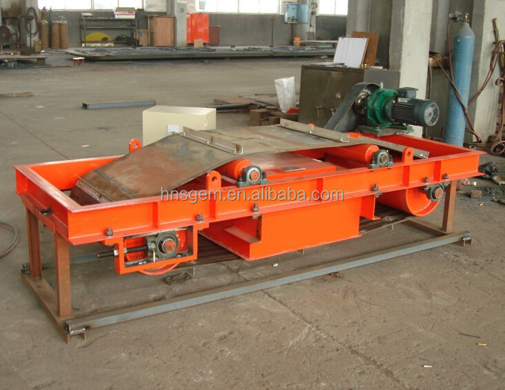 Self-Cleaning Electric Magnetic Separator for Iron Ore
