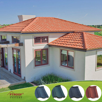 TILES transparent roofing material