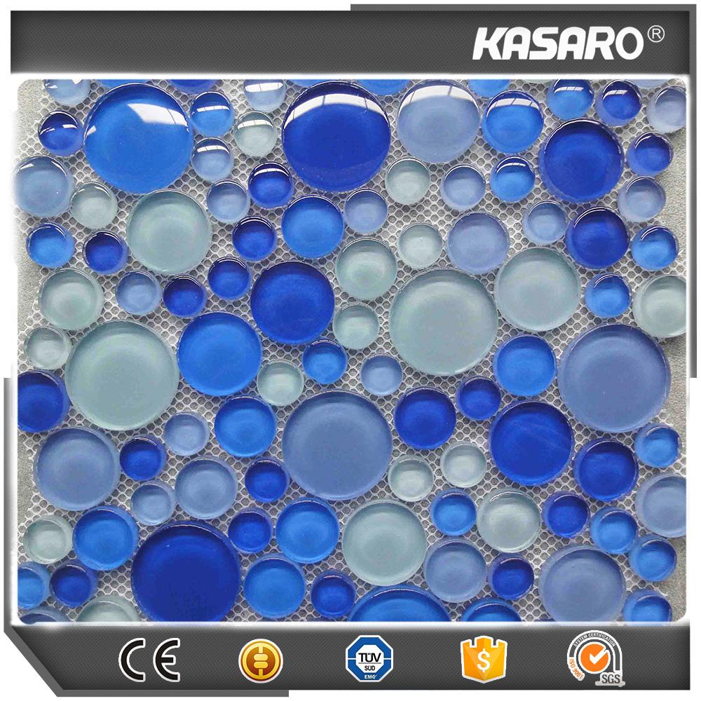 3d blase glasmosaik kieselstein mosaik fliesen wand for Mosaik aufkleber