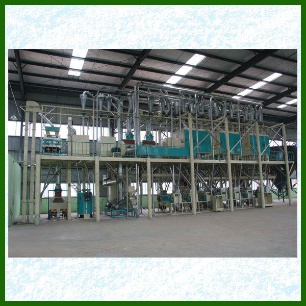 Maize Degerming and Flour Milling Production Line