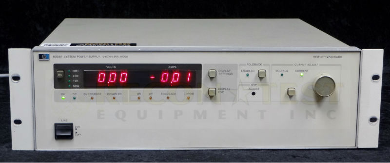 Agilent / HP 6032A System Autoranging DC Power Supply, 60V, 50A