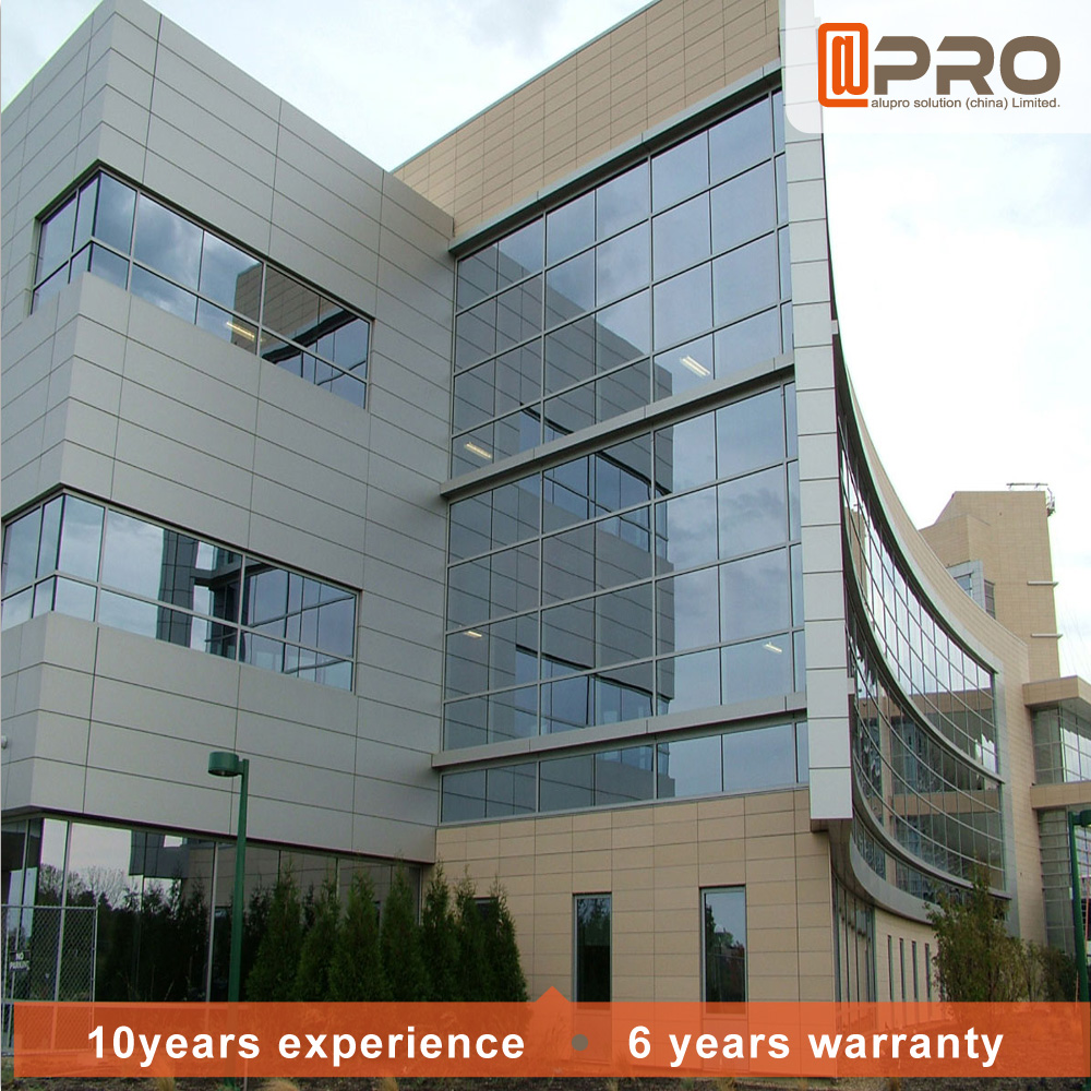 Aluminium Curtain Wall Facades : High quality building material facade aluminum curtain