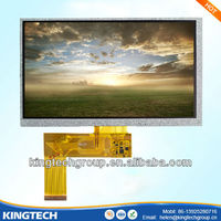 Normally White indoor advertising touch screen 7.0 inch