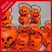 Halloween small pumpkin jar promotional gift