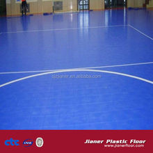 Double layer SUGE Outdoor Interlocking Futsal Football Field Flooring