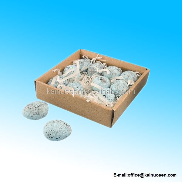 Ceramic Eggs in Box