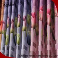 Home furnishing window curtain,beautiful color blackout curtain fabric