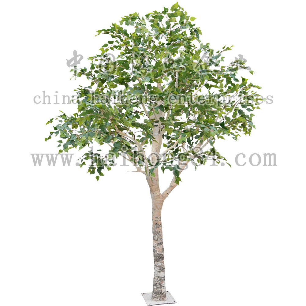 2015 wholesale high quality artificial1 5m birch tree for for Cheap trees