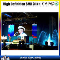 ali p6/p5/p4 indoor led display full vedio display screen hot photos for top class used music concert