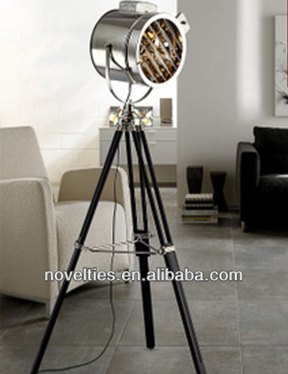 Hot selling camera tripod floor lamps modern standing lighting