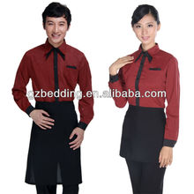 Hot Sale Hotel/Restarant/Bar Waiter/Waitress Uniform