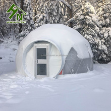 High Quality Steel Snow Dome House With Geodesic Dome Design