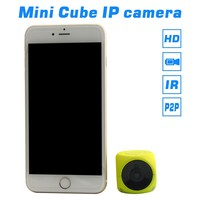 High Technology IPC300 Cube IP Security Camera, Lifestyle Mini IP Camera with Wi-Fi and Night Vision