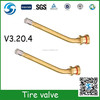 brass V3.20.4 tire valve for truck and bus