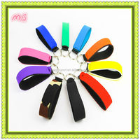 new fashion neoprene folding key chain