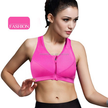 Ali high quality ladiessexy women yoga plain sport bra