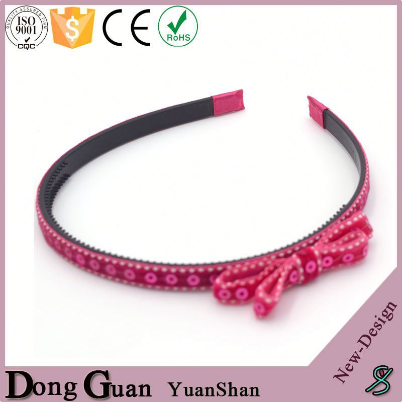 2016 new design bluetooth speakers knit hair band pearl flower girl bow headband diy grosgrain