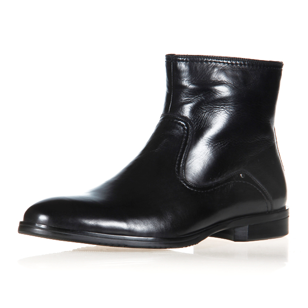 2015 luxurious men leather boot shoes