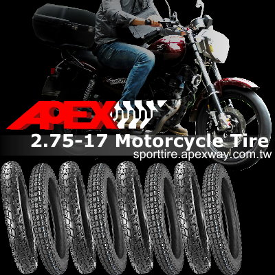 2.75-17 Motorcycle Tire