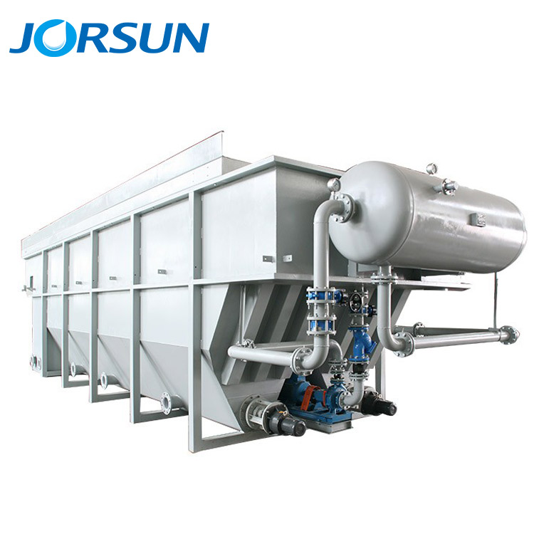 Dissolved Air Flotation clarifier for industry wastewater treatment