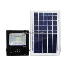 30W solar led flood lights outdoor all in one with motion sensor