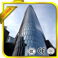 High Quality Curved Tempered Glass Window Manufacturer With CE Certificate
